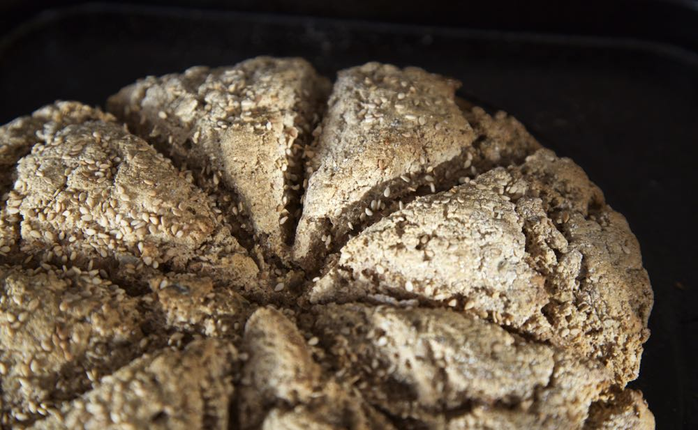 Easy Soda Bread - Ready in half an hour.