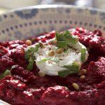 Beetroot Baba Ganoush - Beeta Ganoush made with sweet chilli beetroots