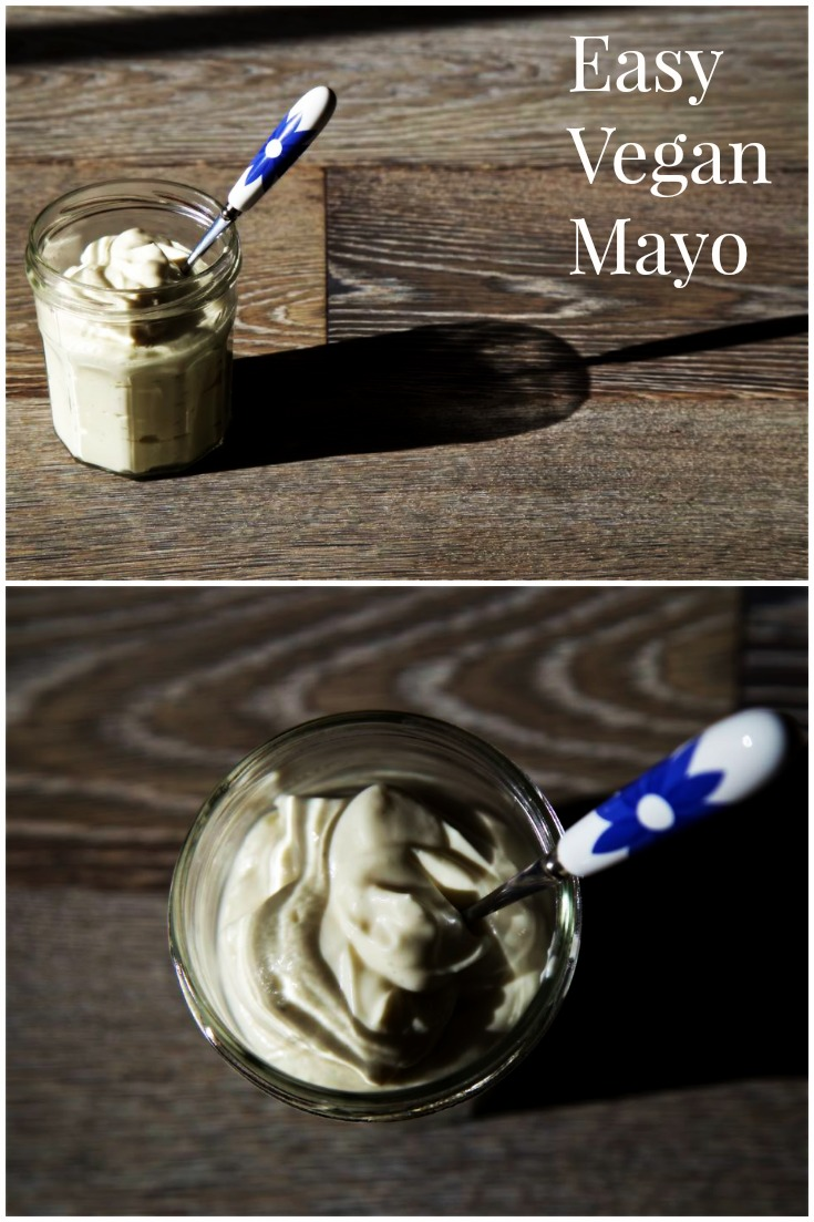 Easy Vegan Mayonnaise Recipe from Thinly Spread.