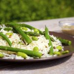 Wild Rice and Asparagus Salad with Sumac and Lemon Thyme