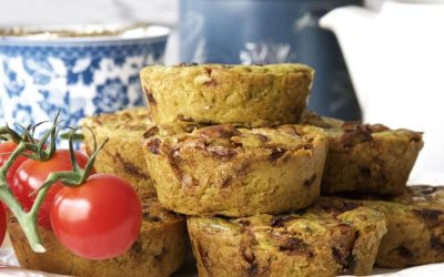 Vegan Full English Breakfast Muffins (or Vegan Frittata…or Vegan Quiches!)