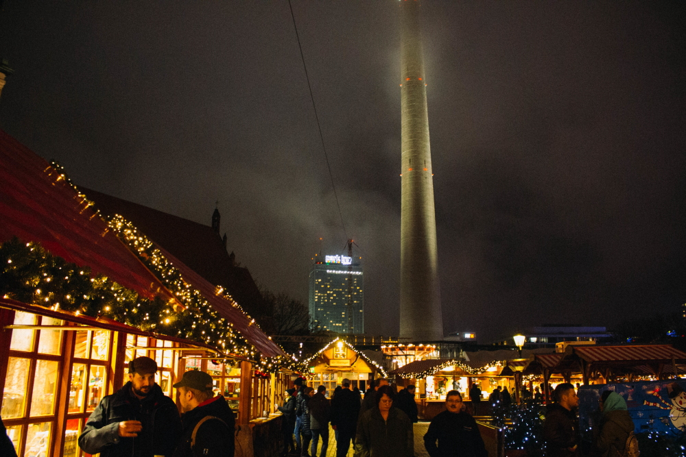 Berlin Christmas Market by Tali Mosler.