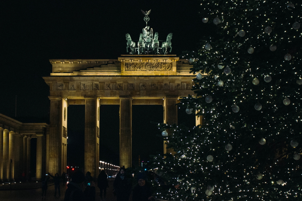 Brabdenburg Gate at Christmas