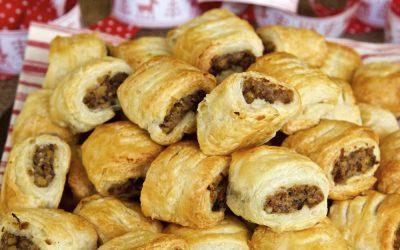 Easy Vegan Sausage Rolls – Mini Chestnut Sausage Rolls