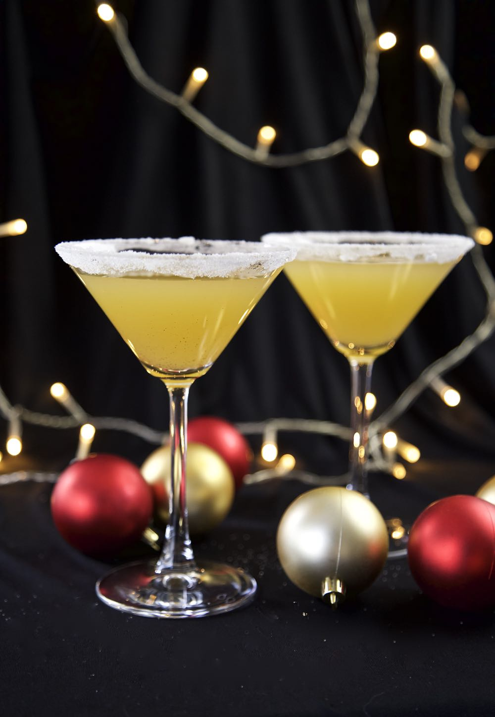 Vegan Christmas Cocktail - Christmas Cheer Cocktail