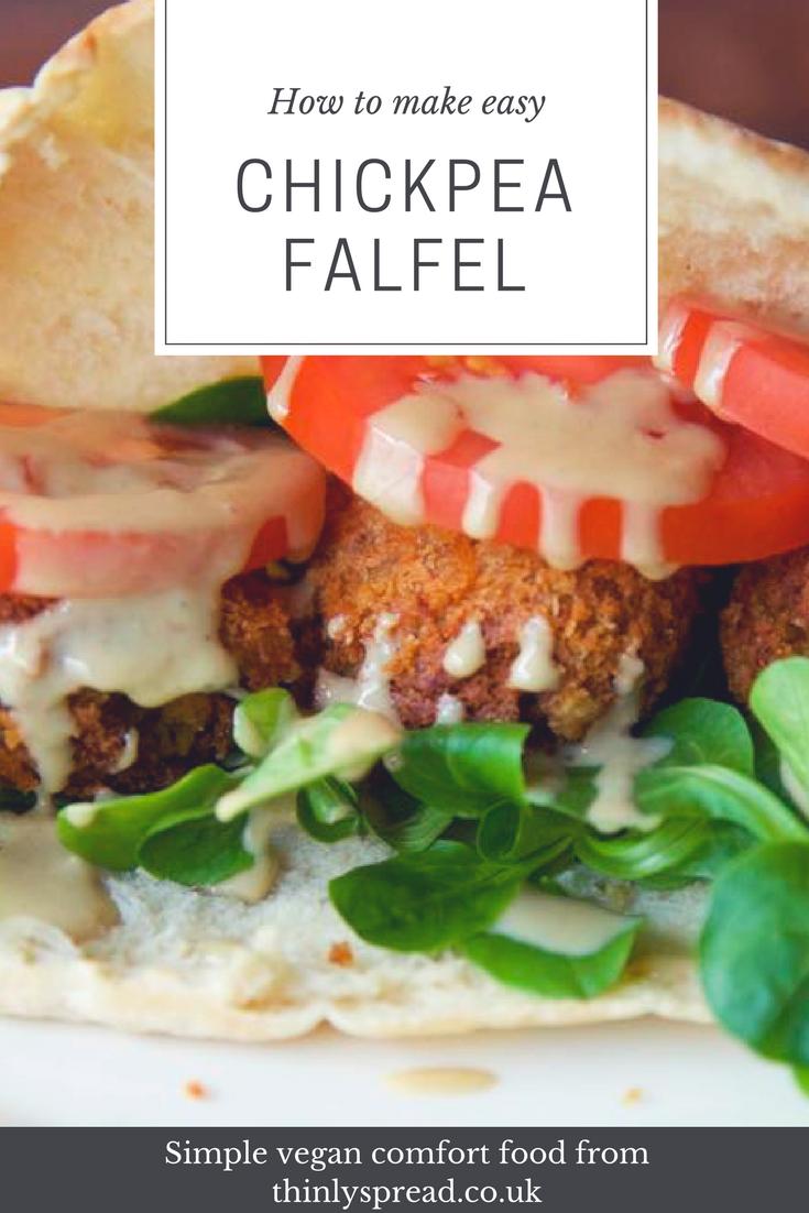 How to make Falafel - easy vegan falafel recipe.