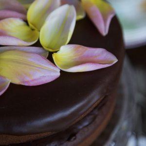 The best Vegan Chocolate Fudge Cake in the world.