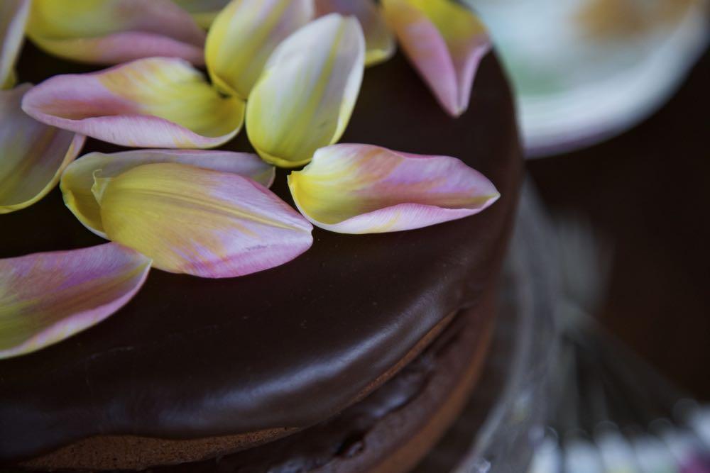 The best Vegan Chocolate Cake in the world.