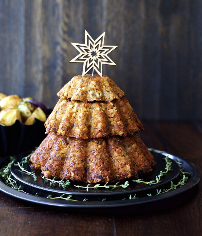 Cashew Nut Roast - A Vegan Christmas Centrepiece