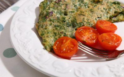 Easy Vegan Omelette with Fresh Herbs (Gluten Free)