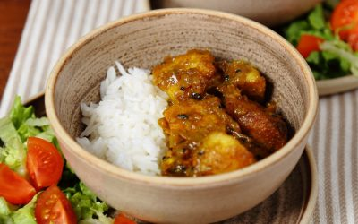Easy Vegan Roast Potato Curry