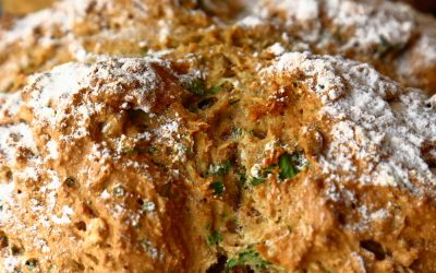 Vegan Soda Bread with Fresh Herbs