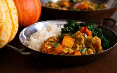 Pumpkin Curry with Coconut and Cinnamon