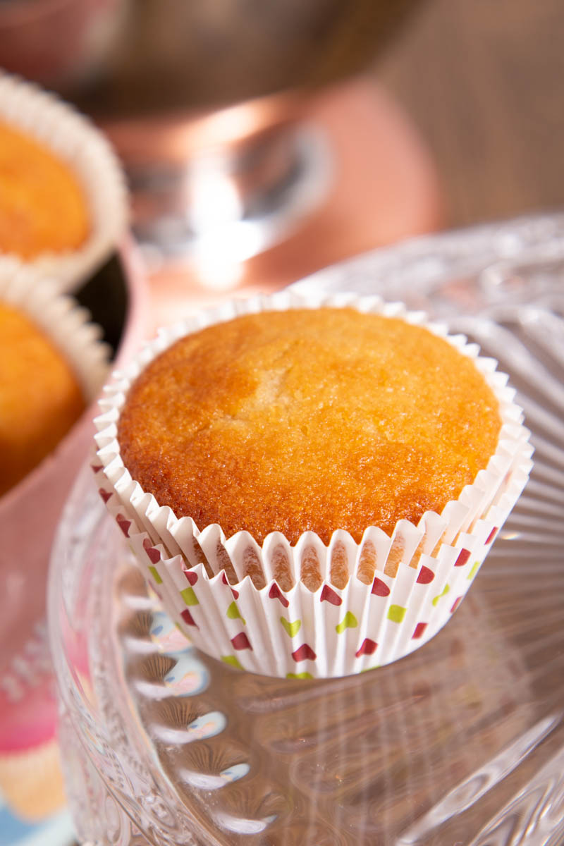 Easy Dairy Free Cupcakes.