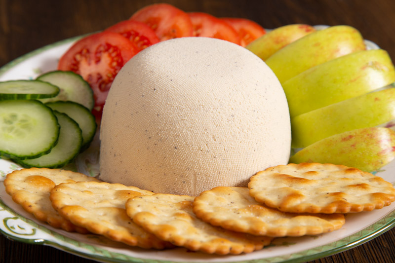 Creamy Cashew Cheese Ball.