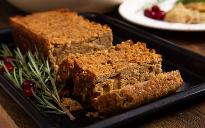 Lentil Loaf – An Easy Vegan Sunday Roast