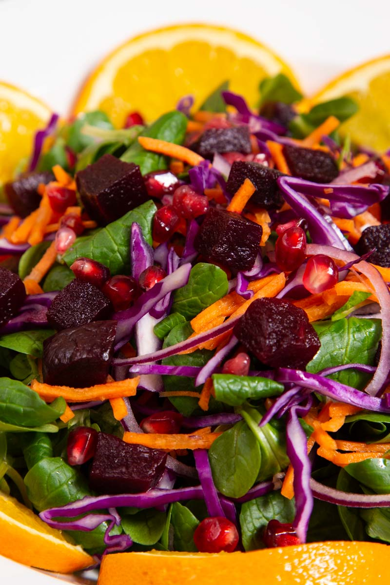 Beetroot Salad with Oranges.