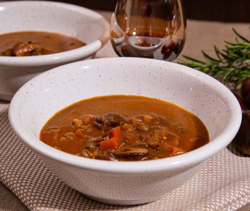 Simple Chestnut Soup