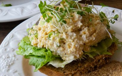 Vegan Egg Mayo Salad Sandwich
