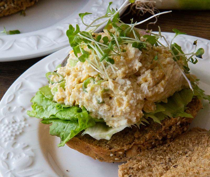 Vegan Egg Mayo Salad Sandwich