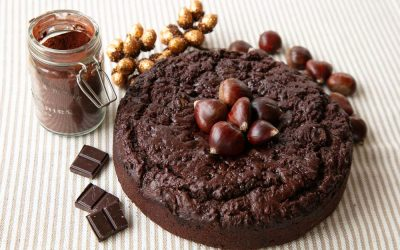 Double Chocolate Chestnut Cake