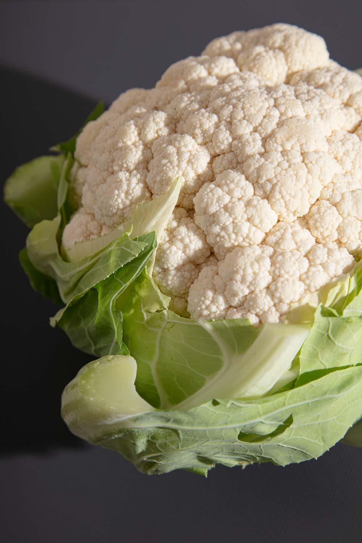 A head of cauliflower.