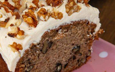 Coffee and Walnut Loaf Cake